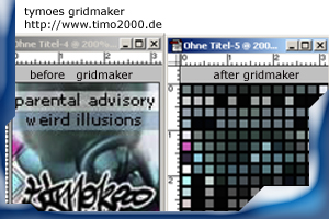Product picture Photoshop Plugin Gridmaker